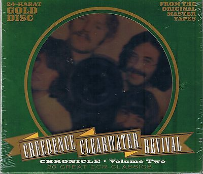 Creedence Clearwater Revival (CCR) Chronicle Vol.2 24 Karat GOLD CD NEU OVP Seal