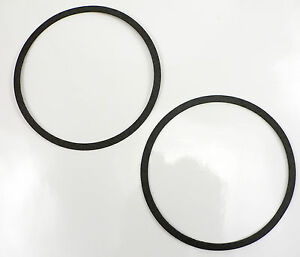 PER-899-2 (2) Carburetor Air Cleaner Gasket Holley Edelbrock AFB Quadrajet Carb