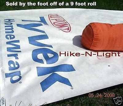 TYVEK- Ground Cloth sheet-Tent Footprint-Camping Tarp- Rain Fly-w/ ANCHOR LOOPS