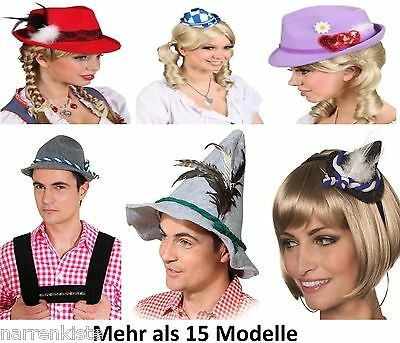 Seppl Seppel Dirndel Dirndl Trachten Tiroler Hut Wiesen Kleid Kostüm Bayern Mini