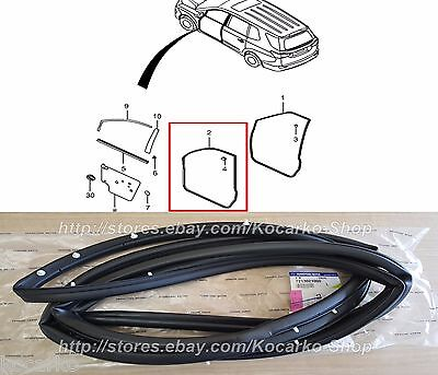 Genuine Weather Strip Front Left Body Side 821101M000 for KIA Forte 2010 2013 4D