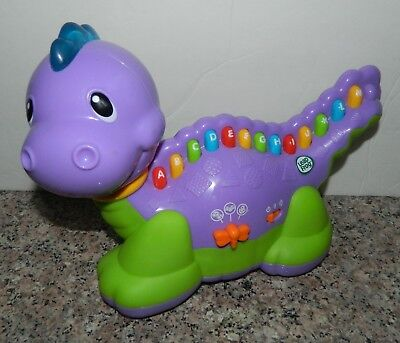 LEAP FROG Purple Dinosaur Learning LETTERSAURUS ABC Electronic Toy
