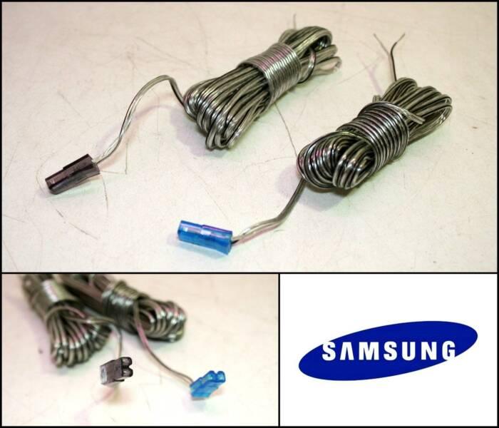 Genuine SAMSUNG Speaker Cable Connectors Plugs | Speakers | Gumtree ...
