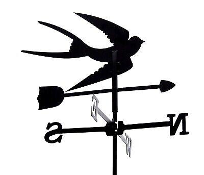 Standard Swallow Metal Weathervane (Post Fixing Bracket)