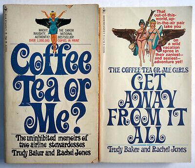 Trudy Baker & Rachel Jones Lot 2 VTG MMPB: Coffee Tea Me &