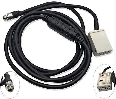 Female AUX Auxiliary Audio Input Kit Adapter Cable For BMW E60 E63 E64 E65 E66