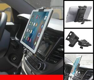 Universal Car CD Slot Tablet / Phone Holder Mount Stand for iPad / mini cradle