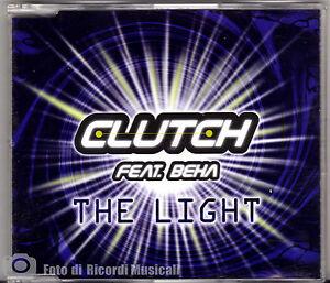 CDS-CDM-CLUTCH-Feat-BEHA-THE-LIGHT-NUOVO-NON-SIGILLATO