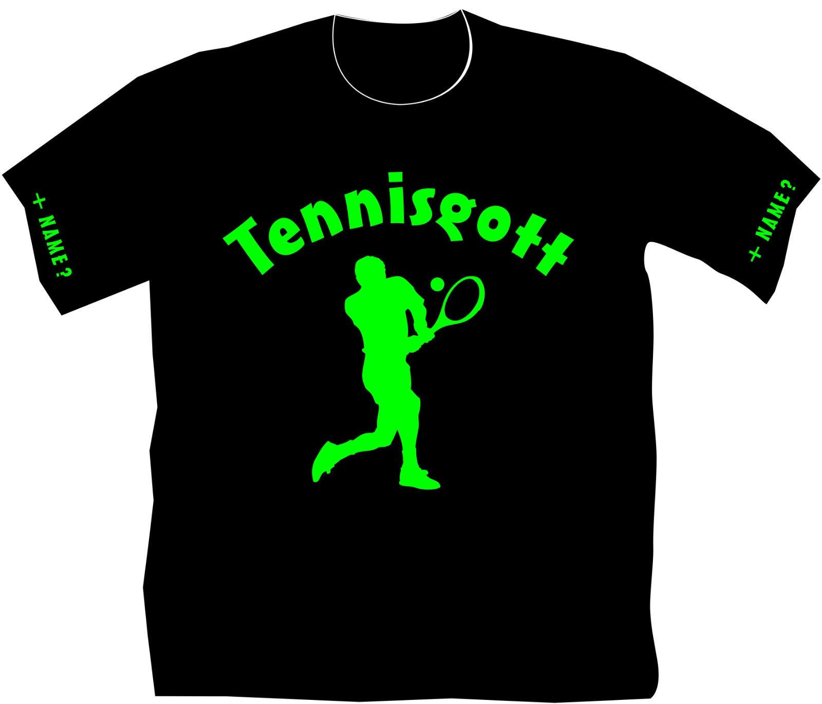 Tennisgott Tennisshirt Tennis T-Shirt Trikot Sportverein Geburtstag Geschenk 9