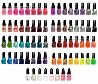 Wet N Wild  Nail Polish Spoiled Color Glitter Crackle Shine Matte   You Choose