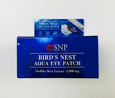 [Ship from USA] SNP Bird's Nest Aqua Eye Patch 60ea