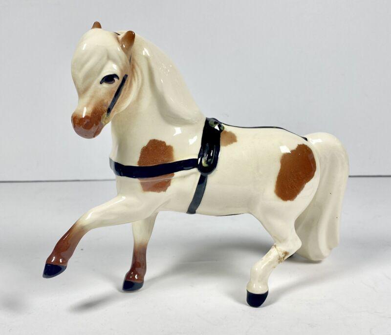 METLOX Brown Pinto Pony Horse #642 Metlox Nostalgia Line Poppytrail