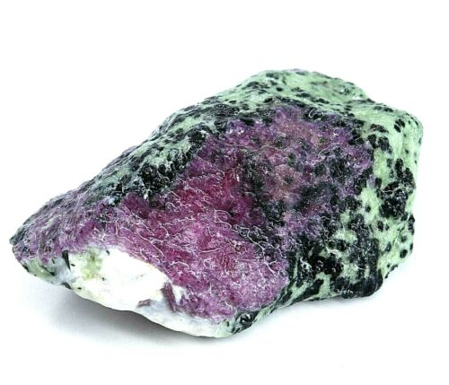 832 Ct Natural African Ruby In Zoisite Specimen Facet Rough Certified Best Offer