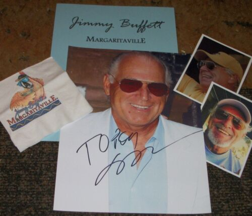 JIMMY BUFFET   Autographed Photo RP & Photos -Very HOT