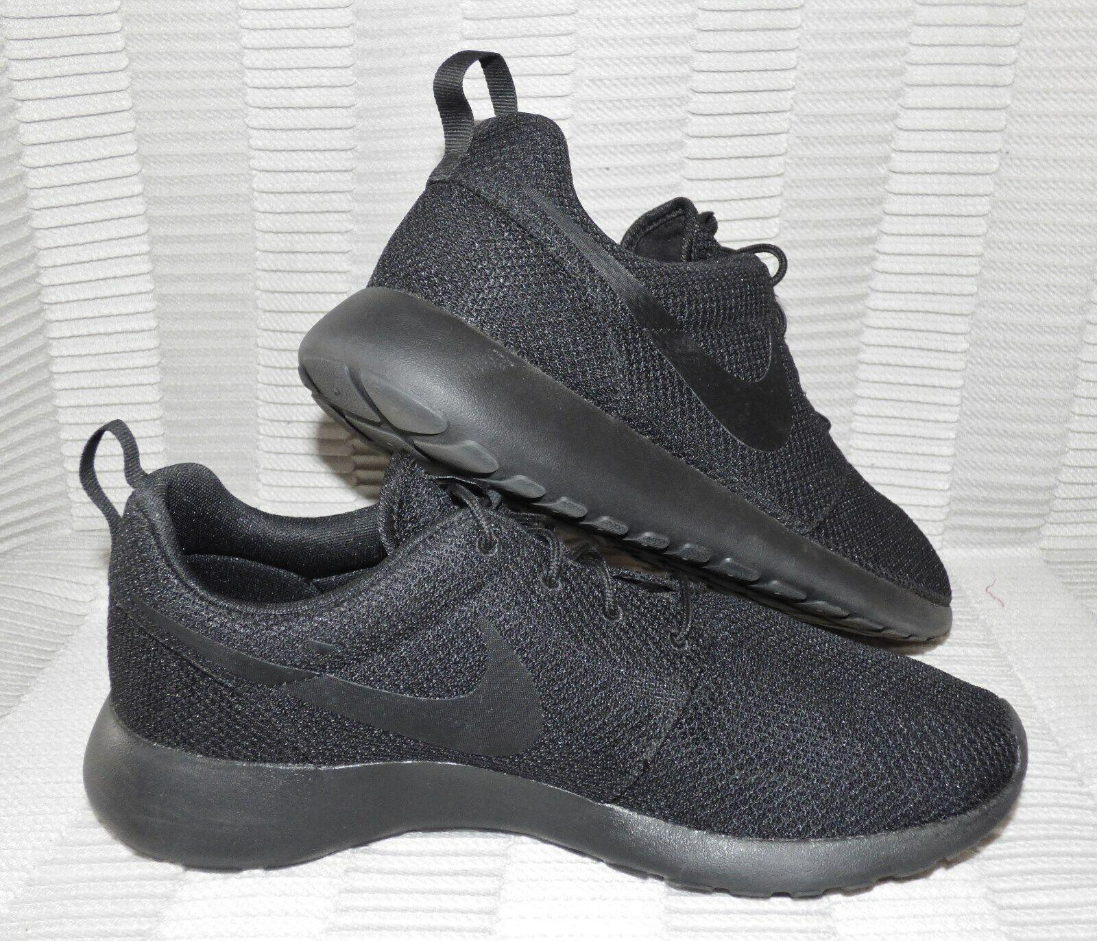 free shipping ec939 86361 MENS MINT NIKE ROSHE ONE MESH BLACK BLACK RUNNING SHOES #511881-026 SIZE  11.5