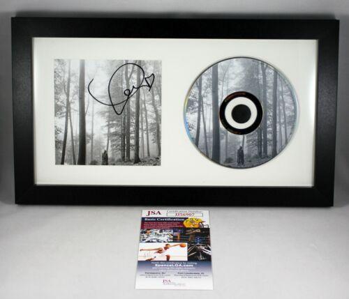 FRAMED TAYLOR SWIFT SIGNED FOLKLORE CD 2020 ALBUM AUTOGRAPHED LOVER RED JSA COA