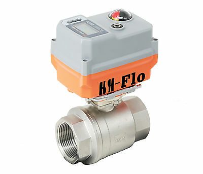 12 4-20ma 24vadc Cf8 Motorized Electrical Control Proportional Integral Valve
