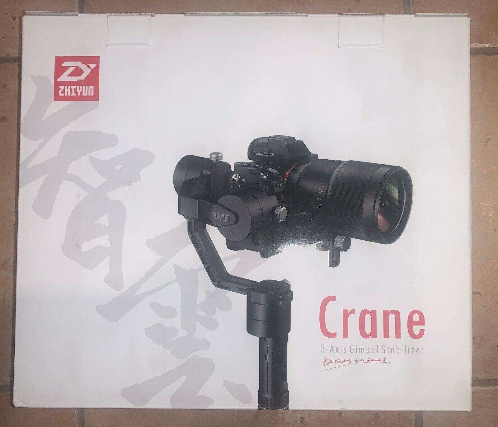 Zhiyun-Tech Crane v2 3-Axis Handheld Gimbal Stabilizer!! STA