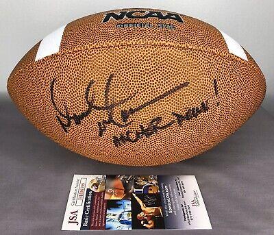 Coach Derek Mason SIGNED NCAA Football w/ JSA COA ~ Vanderbilt Commodores Vanderbilt Commodores Ncaa Ball