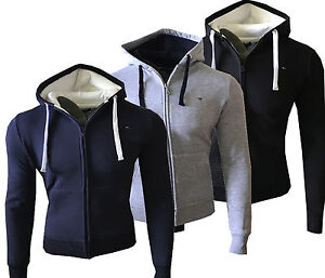 neu tommy hilfiger herren strickjacke pullover jacke hoodie gr s xxl ebay. Black Bedroom Furniture Sets. Home Design Ideas
