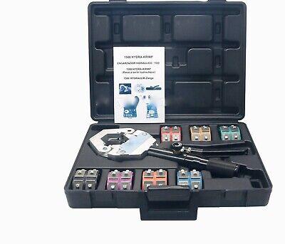 1500 Hydra-krimp Ac Hose Hydraulic Crimper Kit Air Conditioning System Us