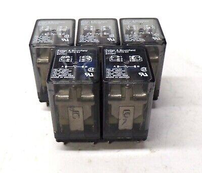 Potter Brumfield Relay K10p-11d15-24 24 Volt Dc 15 Amp Lot Of 5