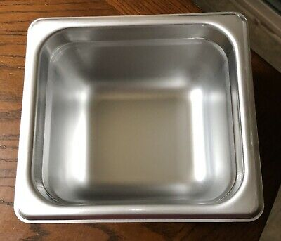 Browne Stainless Steel 188 Steam Table Pan 16 Size 4 Deep Brand New 22164