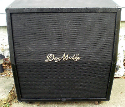4X12 Celestion loaded Dean Markley angled cabinet Guitar speaker Sounds Great!
