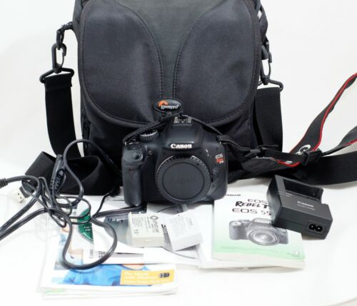 Canon EOS Rebel T2i 18.0MP Digital SLR Camera Body Only LOW SHUTTER COUNT