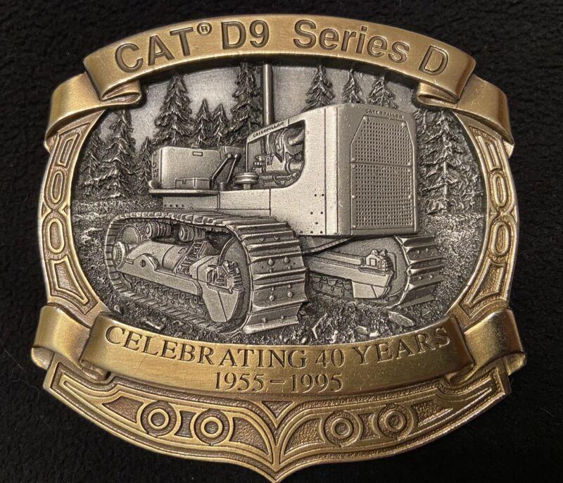 Caterpillar Tractor Cat D9 Series D LTD Edition Belt Buckle