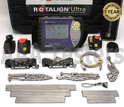 Pruftechnik Rotalign Ultra Laser Shaft Alignment System
