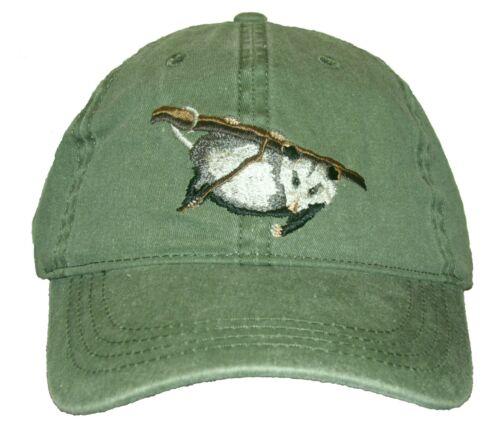 Opossum Embroidered Cotton Cap NEW Hat Wildlife Mammal Virginia