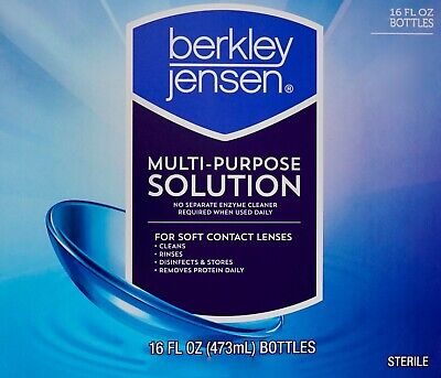 Berkley Jensen Multi-Purpose Solution for Soft Contact Lenses, 16