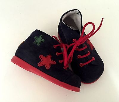 Suede Baby Lace Boots Size 18