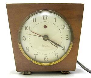 Westclox Electric Alarm Clocks