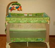 Fisher Price Rainforest Porta-Cot with Bassinet Wishart Brisbane South East Preview