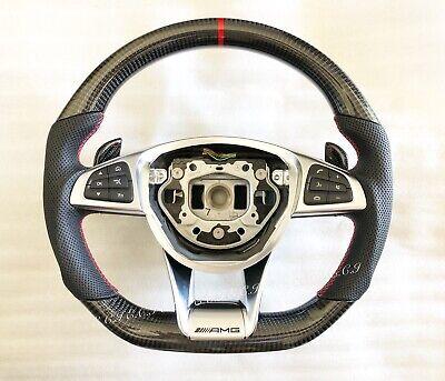 Original Mercedes CLS63 C63 S63 GLE63 GLS63 CLA45 E63 Carbon Faser Lenkung Rad