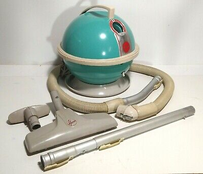 Hoover 454 Constellation Vintage Canister Vacuum W Tools Pristine Tested & Works