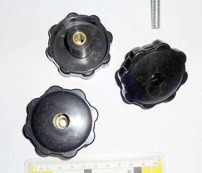 Sterngriffmutter Feststellrad Befestigungsrad Stellknauf Stellrad weiblich M8