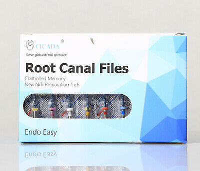 Dental Endo Endodontic Universal Engine Rotary Root Canal Niti File 25mm