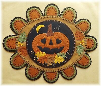 PATTERN!~* 'Fall'-ing in LOvE*~Autumn Pumpkin Penny Rug/Table Mat~*PATTERN*~](Pumpkin Pattern)