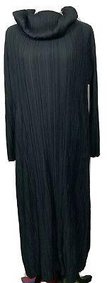 Issey Miyake - Pleats Please High-Neck Midi Technical-Pleated Dress Size 5