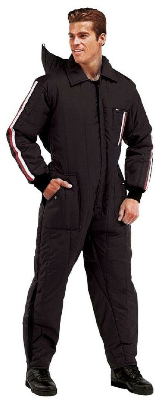Ski and Rescue Waterproof One Piece Suit Insulated SnowMobil