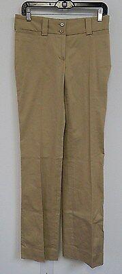 New Dolce & Gabbana sz 40 Beige Khaki Stretch Cotton Pants Italy nwot