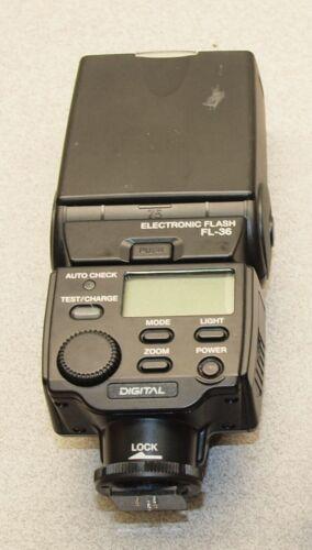 Olympus FL-36 Shoe Mount Electronic Digital Flash Modified