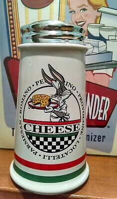 Bugs Bunny Parmesan Cheese Shaker,Warner Brothers Store 1993--Gently displayed Store Parmesan Cheese