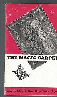 The Magic Carpet Booklet  Oriental Rug Importers Hand Woven Oriental Carpets