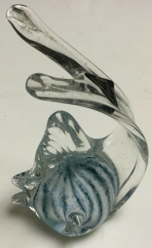 Phoenician Glass Malta Fish - Paperweight - Malta