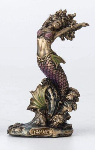 Yemaya African Goddess of Ocean Statue Sculpture Orisha Deity Figurine - MINT