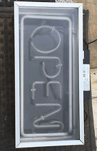 "VERY COOL OLD SCHOOL ""OPEN"" illuminated shop front sign. Windsor Hawkesbury Area Preview"